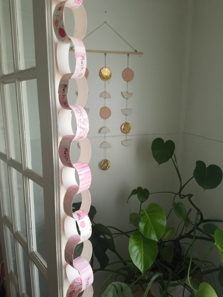 DIY Paper Chain: A fun way to plan